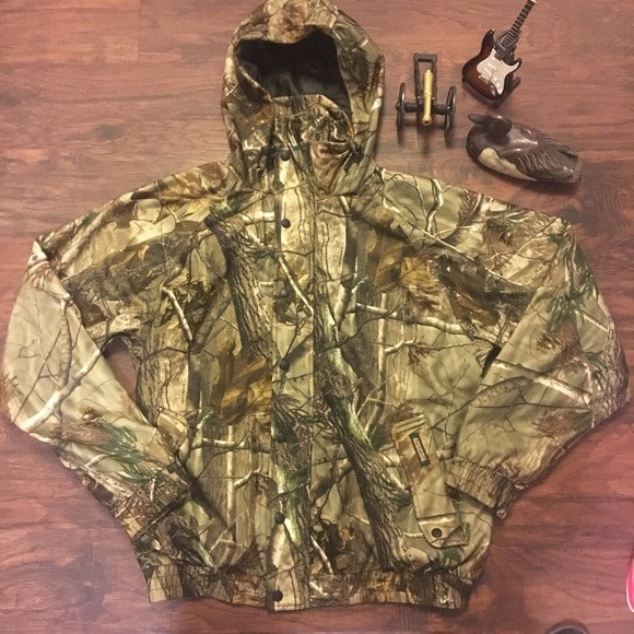 Realtree Jackets Coats Remington Hunting Camo Jacket All Weather