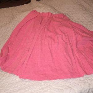 Lularoe Heathered pink Madison skirt