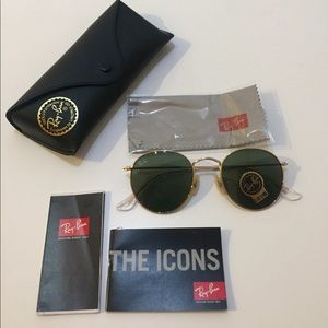 NWT Ray-Ban Circle Sunglasses