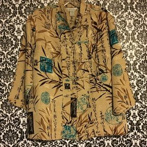 Chinese motif blouse