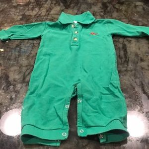 Glorimont One Piece Polo Playsuit with Truck 9M