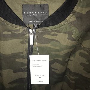 Sanctuary Jackets & Coats - Sanctuary Camo Bomber Jacket