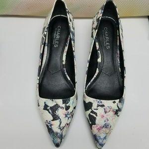 ⚡FINAL PRICE 💥 Flora Print heels by Charles David