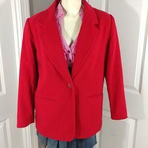 Vintage Sag Harbor Women's Blazer Sz10P