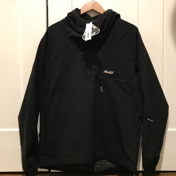 e700387d8275 Palace Black   Black windbreaker