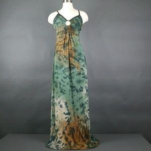 Michelle jonas tie dye maxi dress