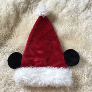 NEW Disney Mickey Mouse Santa Hat