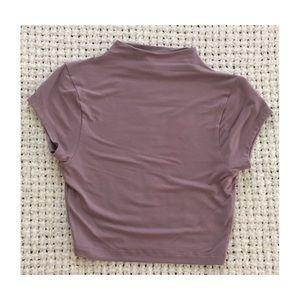 ASOS Lavender Crop Top
