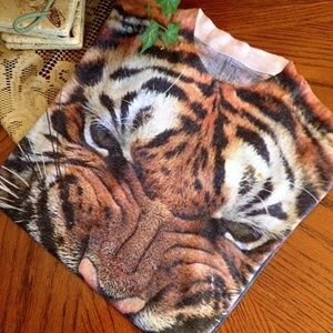 Urban Outfitters Ripple Junction Tiger Graphic T