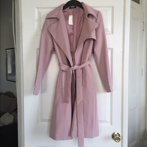 Jackets & Blazers - Lavender trench coat