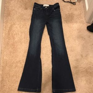 Abercrombie & Fitch Flare Jeans - size 2