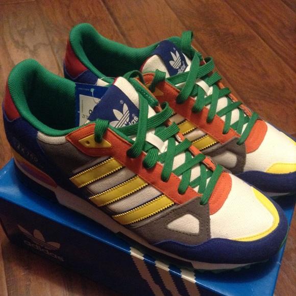 696341a2f6b6 Adidas ZX 750 Vintage Running Shoe