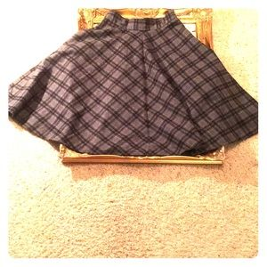 Classic Plaid Skirt sz. small