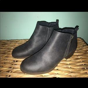 Shoes - Dark Grey Booties for sale!!