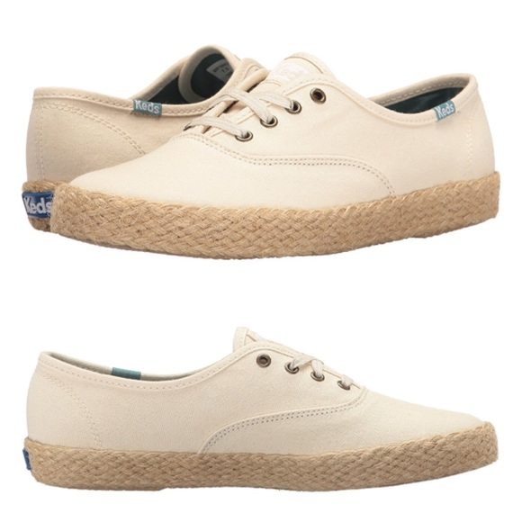 7211e7fd Keds Shoes | Champion Salt Wash Canvas Jute Tan 95 | Poshmark