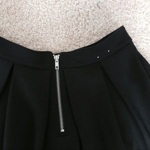 Aeropostale Skirts - NWOT Bethany Mota Black Pleated A-line Skirt