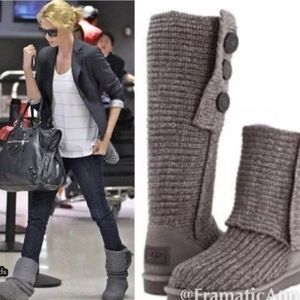 ireland ugg cardy classic knit boot