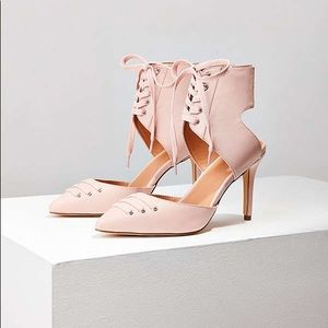 Urban Outfitters • Skylar Lace Up Heel