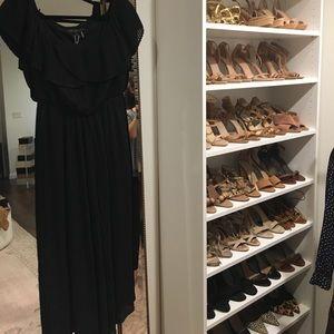 Dresses & Skirts - Endless Rose Black Jumpsuit