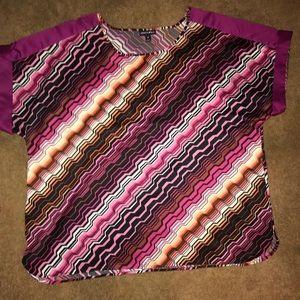 Multicolored top