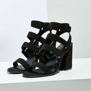 Urban Outfitters • Velcro Strapped Heel