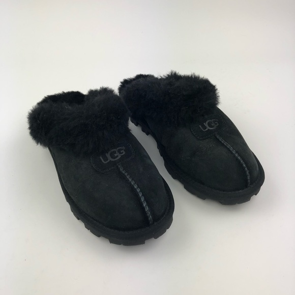 65d376ed621 UGG Women's Black Coquette Slippers Size 9