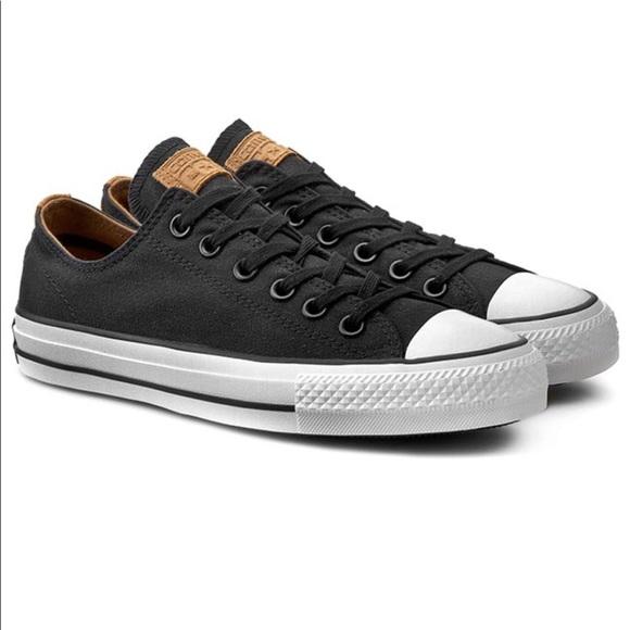 40f920871f3769 Converse Pro OX 149875C Black White Black Laces