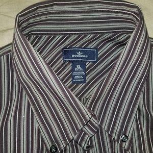 Dockers XL Dress Shirt 17-17 1/2 neck