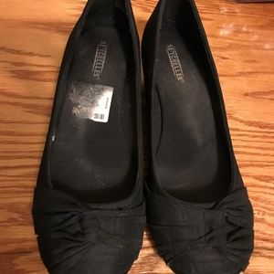 5 for $20 Black Wedge Shoes