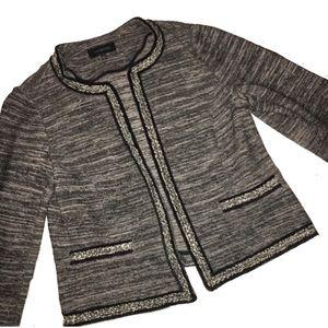 🎈Talbots Fringe Fringe Trim Tweed Jacket