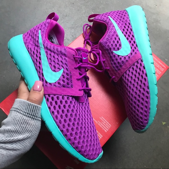 the best attitude 65a04 07a63 NEW 💜 NIKE ROSHE ONE FLIGHT WEIGHT