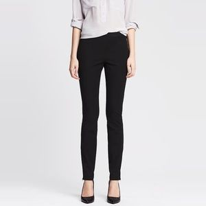 Banana Republic Classic Sloan Black Ankle Pants 0