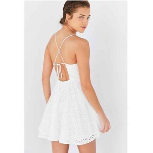 Urban Outfitters • Kimchi Blue Lace Strappy Dress
