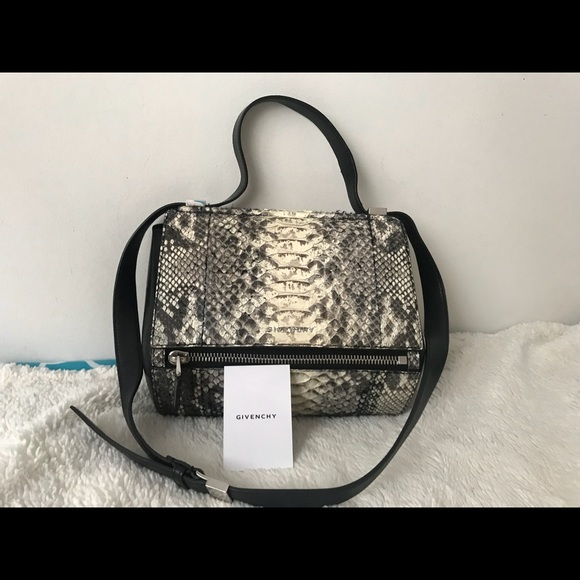 2f8b1b1faa Givenchy Handbags - Givenchy Pandora Box Python Leather