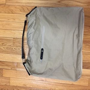 Hobo International Tan Nylon Tote - Barely Used!
