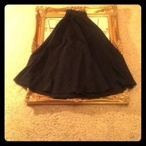 Black ASOS full Midi Skirt sz. 4