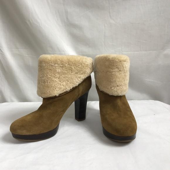 4577541a881 UGG Australia Dandylion Ankle Boots Sz 8