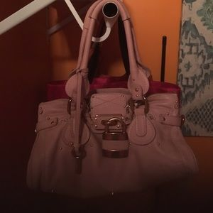 Gorgeous pink Chloe handbag