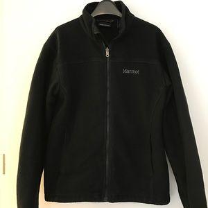 Marmot Men's Black Fleece Jacket