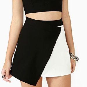 Nasty Gal Asymmetrical Skirt