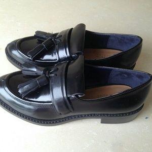 Zara Embellished Derby Shoes