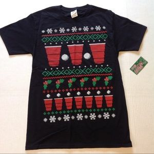 Other - Beer Solo Cup Party Christmas Holiday Tee Shirt