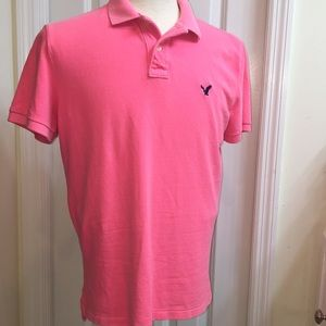 AEO Men's Athletic Fit Polo Size M