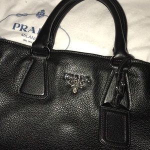 Authentic Prada Handbag Tote/Crossbody