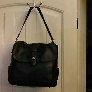 Shoulder bag/hand bag like new all leather
