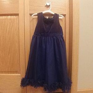 Kids navy blue dress