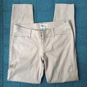 Old navy pixie cropped pants khaki 0 petite