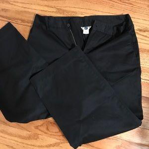 EUC Gap Crop Ankle Black Pant Size 10