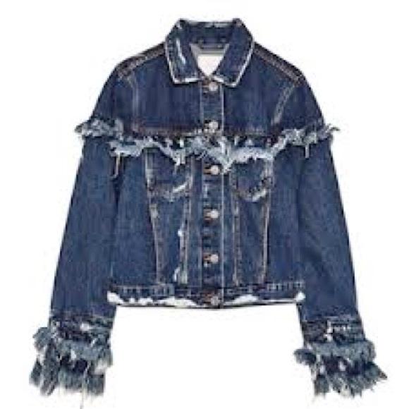 united kingdom no sale tax various styles Zara Jackets & Coats | Fringe Jean Jacket | Poshmark