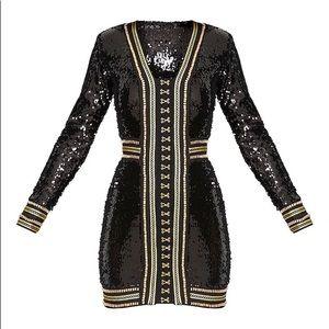 bf089c45bc2f prettylittlething Dresses - 🎉🆕Anisha Black Embellished Sequin Bodycon  Dress